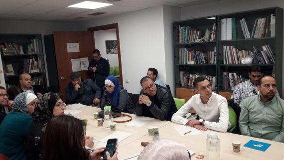Sessió de treball amb la delegació de Jordània i del Marroc