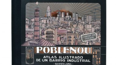 Coberta del llibre 'Poblenou. Atlas ilustrado de un barrio industrial'.