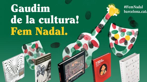 Lectures recomanades per Nadal 2018. Llibres publicats per Ajuntament de Barcelona.