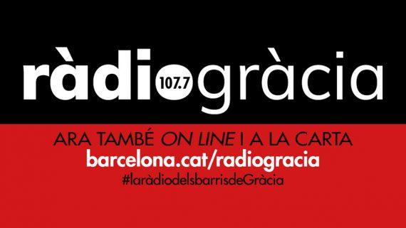Bàner Ràdio Gràcia 2019