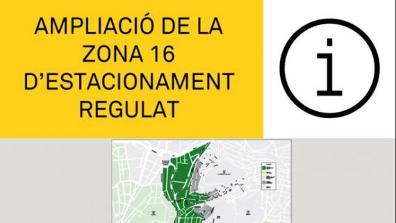 Zona estacionament regulat