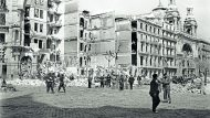 Bombardeig a la Gran Via de Barcelona. 17/03/1938 (ANC. Brangulí –fotògrafs-)