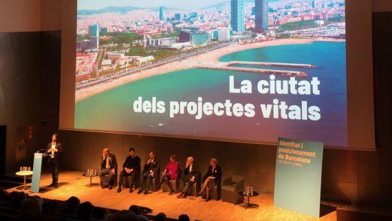 """Presentació d""""Identitat i posicionament de Barcelona. Un relat coral"""""""