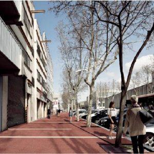 Direcciones a Carrer De Caracas (Barcelona) en transporte público