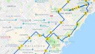 Recorregut de la Mitja Marató Barcelona 2019
