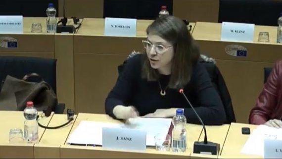 Janet Sanz al Parlament Europeu