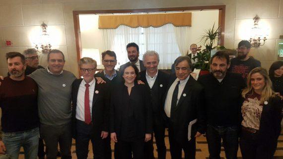 Reunión de alcaldes en Roma