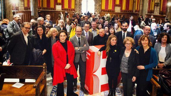 Presentación del programa de Barcelona para la Feria del Libro de Buenos Aires