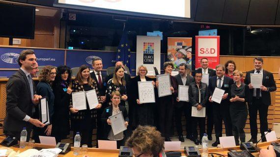 Presentació al Parlament Europeu sobre el Pilar Social Europeu