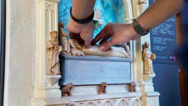 Discapacitat visual, Pedralbes, Monestir, accessibilitat, museu, tomba de la reina elisenda, maqueta tàctil