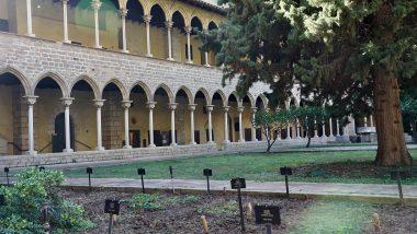 Monestir Pedralbes, claustre, Les Corts