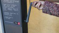 Plafons en braille movible