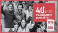 Imatge 40 anys ajuntaments democràtics