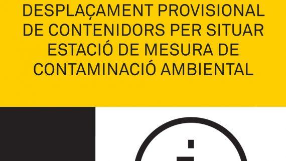 Situació Estació de Mesura de Contaminació Ambiental