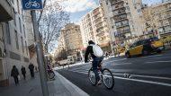 Carril bici Barcelona
