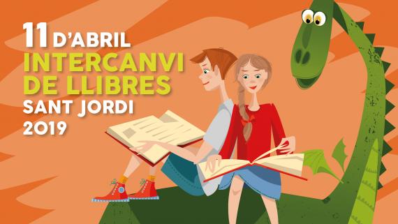Sant Jordi Intercanvi Llibres 2019