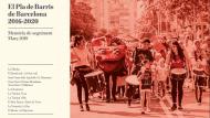 Memòria de seguiment del Pla de barris. Any 2019