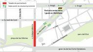 Obres Meridiana Les Glòries Independència Barcelona