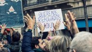 Ciutat Refugi Manifestant-se per acollir