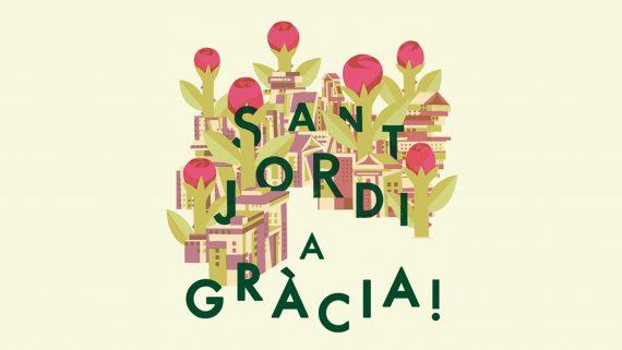 Sant Jordi a Gràcia