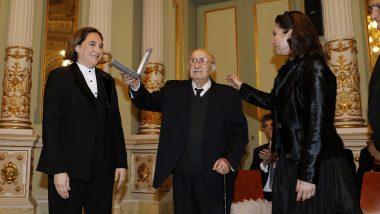 Medalla d'or de la ciutat a Montserrat Caballé