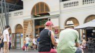 exterior mercat, mercat santa caterina, turisme