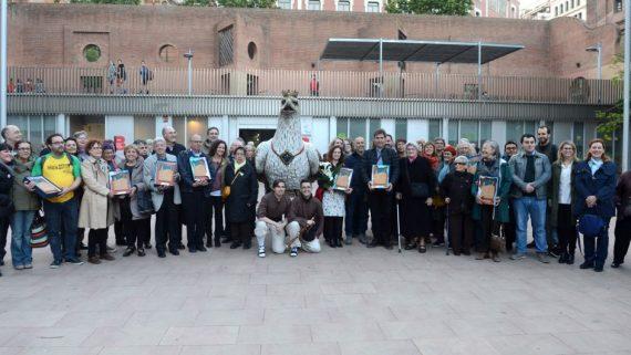Foto família XXIV Premis Vila de Gràcia