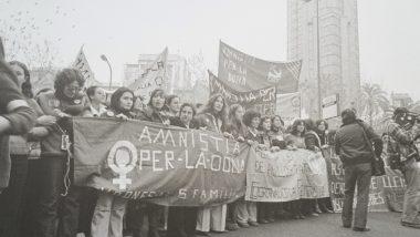 Manifestació, Amnistia per la dona, Exposició El Born, SE-GRÀ
