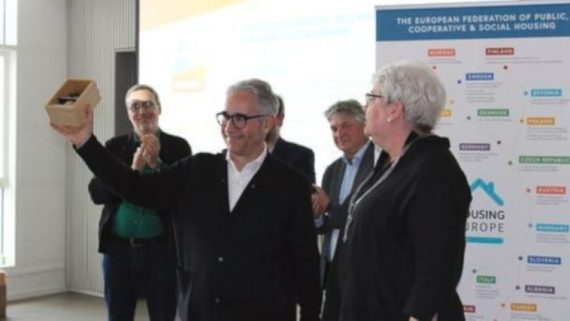 Premi europeu a les polítiques d'habitatge de l'Ajuntament.