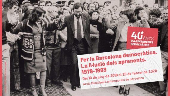 AMCB. 40 anys d'ajuntaments democràtics. 1979-2019
