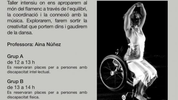 Flamenc sense límits al Centre Cívic Besos