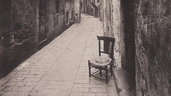 Carrer d'en Malla, 1908. AFB. M. Matorrodona