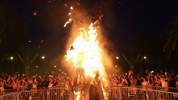 foguera de sant joan 2019