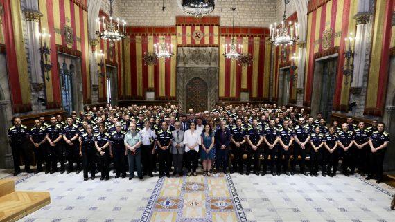 91 promoció de nous agents de la Guàrdia Urbana