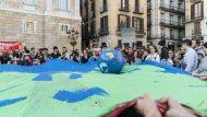 terra, Sant Jaume, manifestació contra el canvi climàtic, fridays for future
