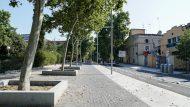 obres Pere IV, Sant Martí, vorera, paisatge urbà