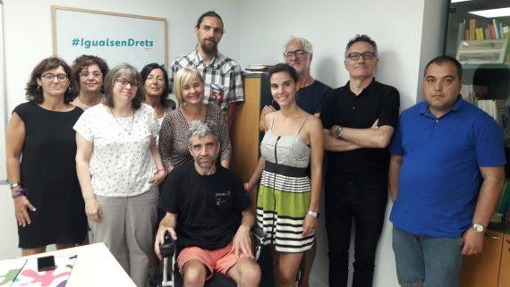 Jurado del Concurso de disseño de la imagen del Día Internacional de las Personas con Discapacidad