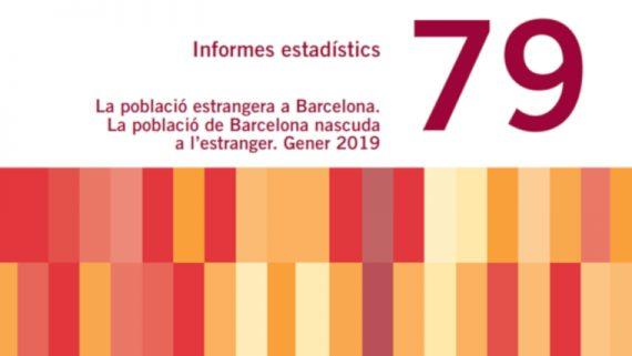 Informe sobre población extranjera en Barcelona