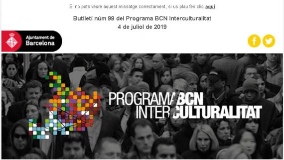 Butlletí Programa BCN Interculturalitat