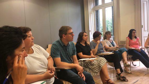 Miembros de la XIB y la red NUST intercambian experiencias sobre usos del tiempo más saludables, igualitarios y eficientes