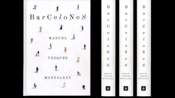 Coberta del llibre 'Barcelones'