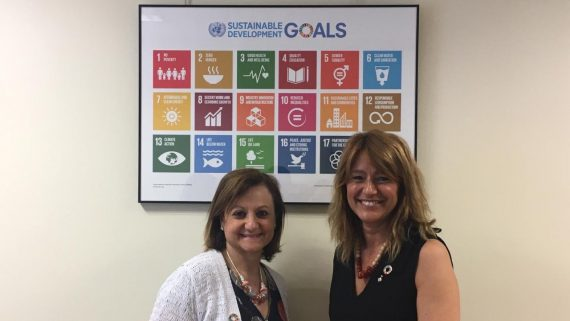 Laia Bonet es reuneix a Madrid amb Cristina Gallach