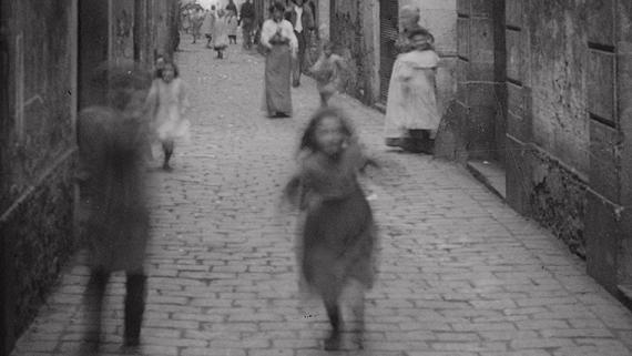 Carrer dels Abaixadors, 1908. AFB. A. Mas