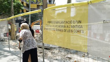 obres, monument presó dones les Corts