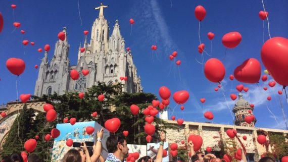 Gran Festa del Cor al Tibidabo