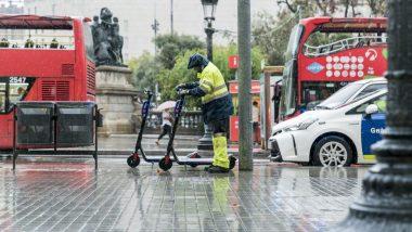 retirada, patinet, VMP, vehicle de mobilitat personal d'ús compartit, patinet de lloguer