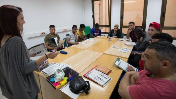 Ciutat Refugi Classe a Servei solidari