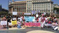 Manifestació Climàtica Plaça catalunnya