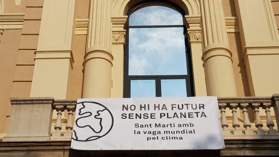 Vaga mundial pel clima a Sant Martí