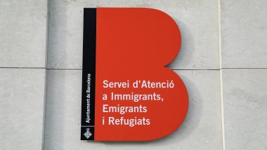 SAIER, Servei d'Atenció a Immigrants, Emigrants i Refugiats, rètol municipal